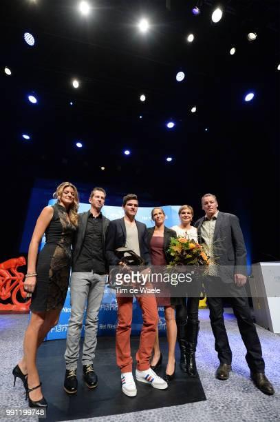 Gala Flandrien 2013Greg Van Avermaet Family Celebration Joie Vreugde Trophee Trofee Flanshow /Tim De Waele