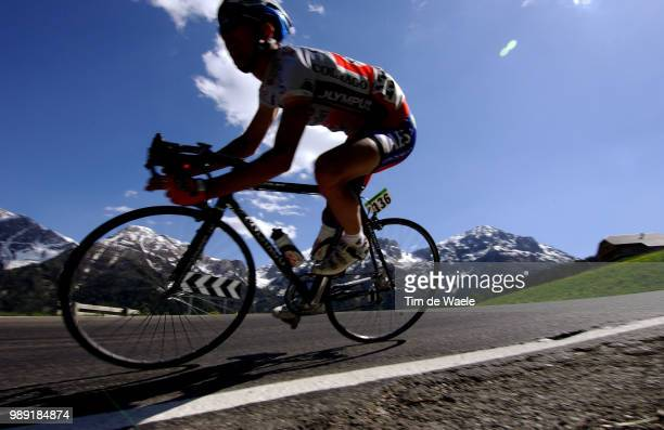 Giro D'Italia 2004Illustration Illustratie, Silhouet Hombre Montagne Mountains Bergen Shadow Schaduw, Sijmens Nico Stage Rit Etape 16 : San...
