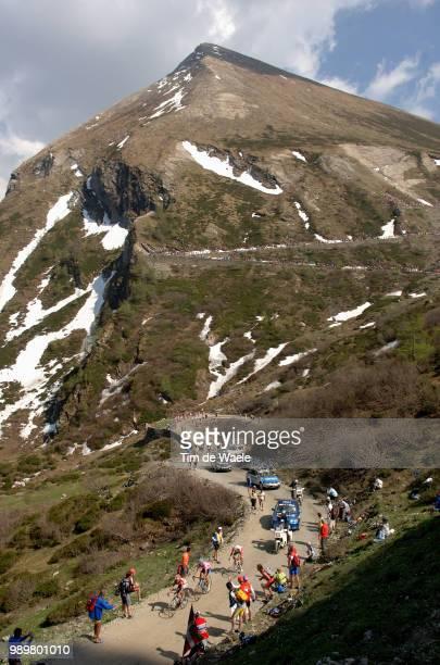 Giro D'Italia, Tour Of Italy Stage 19Colle Delle Finestre, Illustration Illustratie Landscape Paysage Landschap, Mountains Bergen Montagnesstage 19 :...
