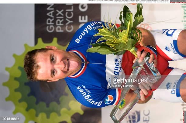 Grand Prix Cycliste De Quebec 2010Podium Thomas Voeckler Celebration Joie Vreugde Quebec Quebec / Tim De Waele