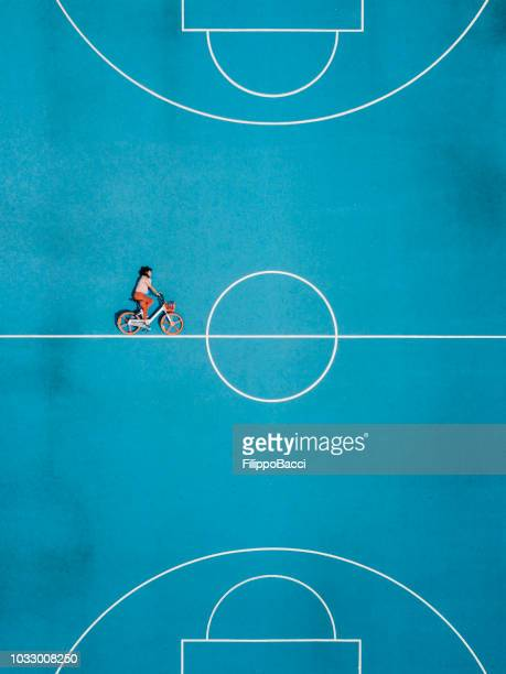 Cycling in a surreal world