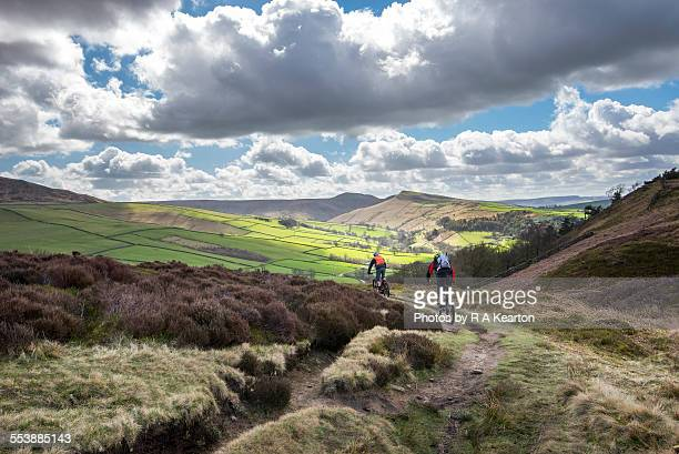 Cycling in the hills of Derbyshire