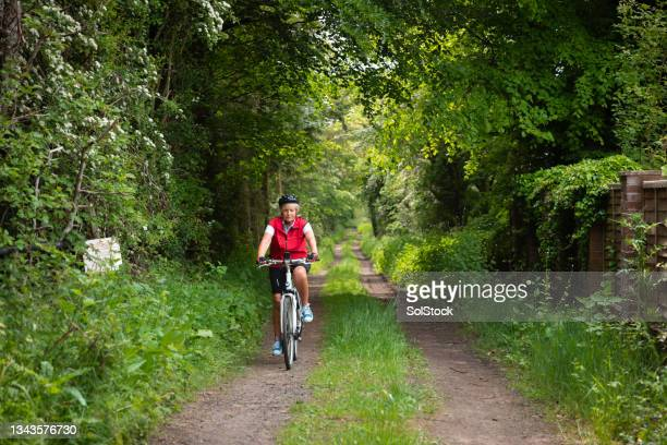 cycling in the nature - morpeth stock pictures, royalty-free photos & images