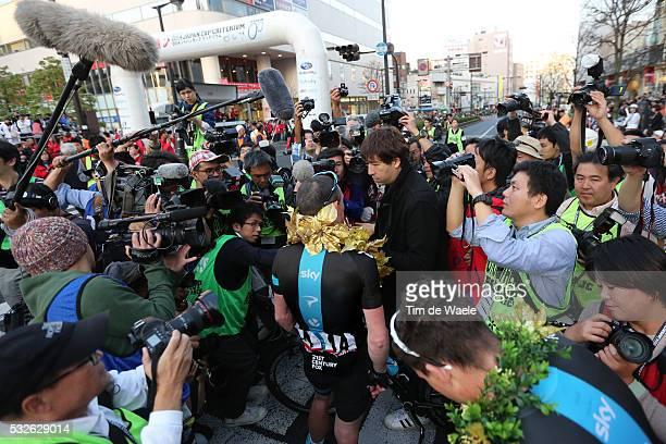 Japan Cup 2014/ Criterium Arrival/ SUTTON Christopher Celebration Joie Vreugde/ Utsunomiya-Utsunomiya / Criterium Japan Cup Tim De Waele