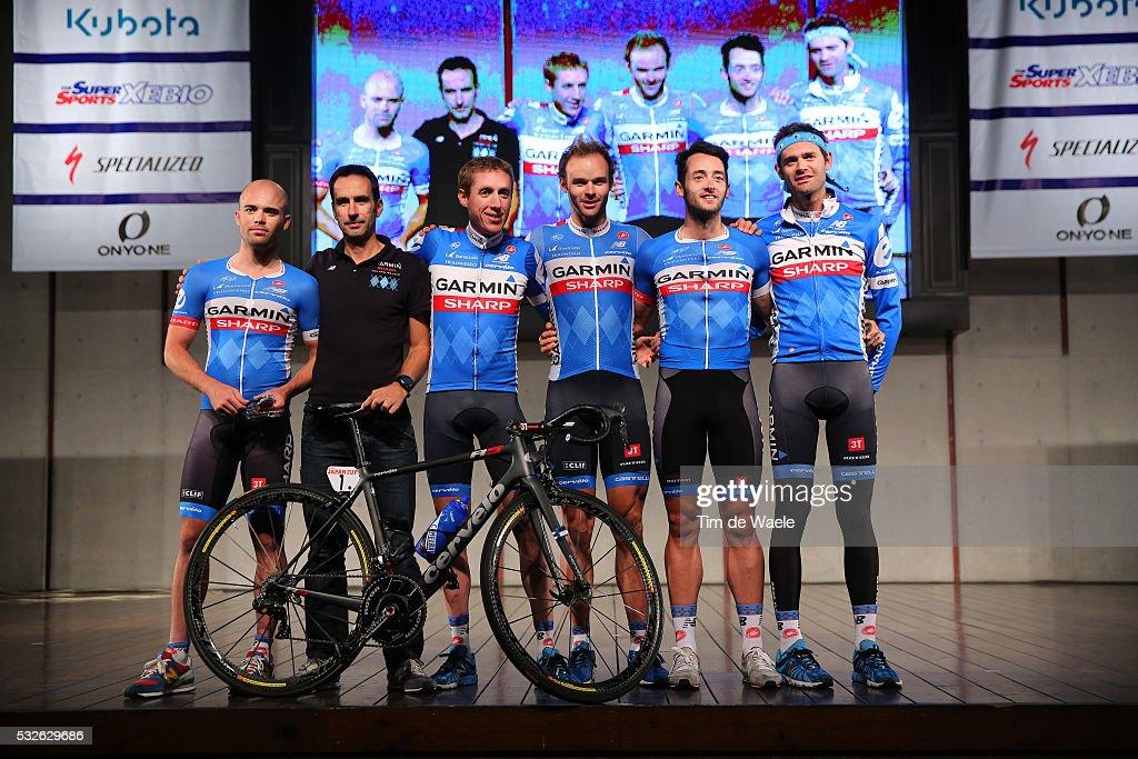 Cycling: Japan Cup 2014/ Team Presentation : ニュース写真