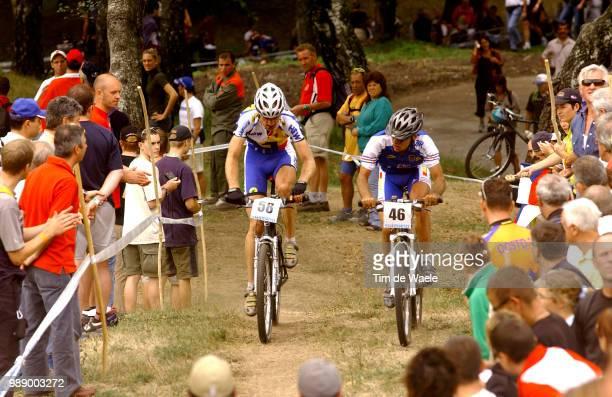 Mountain Bike World Championships Mende Matthias , Peraud Jean-Christophe , Cross Country Elite Men Hommes Elite, Championat Du Monde Vtt,