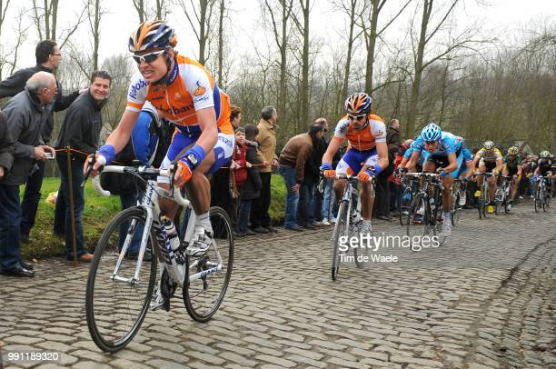 Omloop Het Nieuwsblad 2009 Nick Nuyens Bram Tankink Molenberg /Gent Gent Tim De Waele