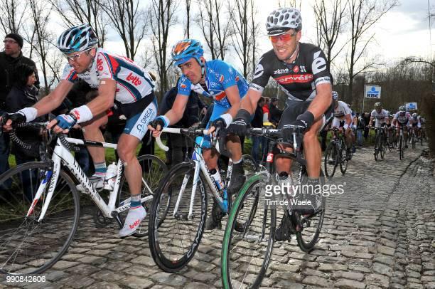 Omloop Het Nieuwsblad 2010Thor Hushovd / Mickael Delage / Sebastien Turgot / Molenberg /Gent - Gent / Tim De Waele