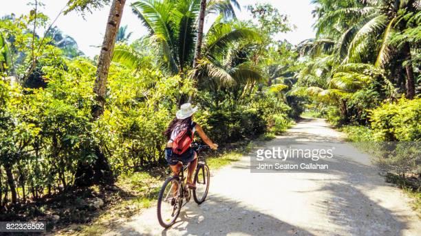 Cycling on Siargao Island