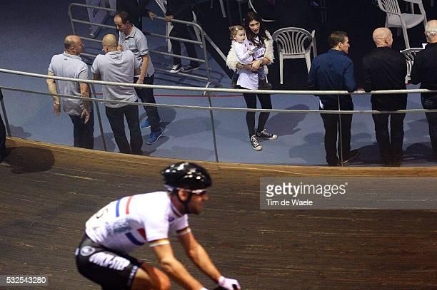 OPQS 2014 Team Presentation Peta Todd Wife Femme Vrouw Mark CAVENDISH Delilah Grace CAVENDISH Daughter Fille Dochter / Omega Pharma QuickStep / Eddy...
