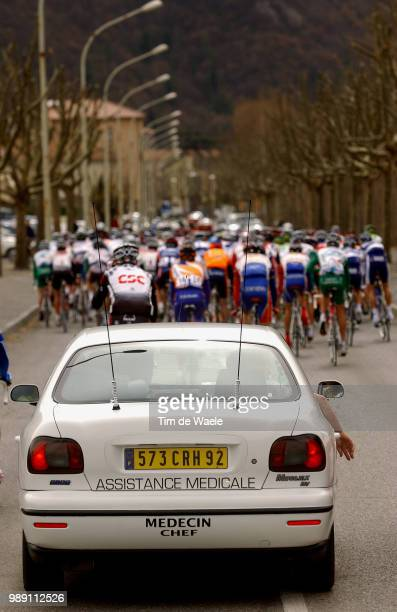 Paris Nice 2004 Porte Gerard Assistance Medicale Dokter Doctor Docteur Illustration Illustratie Car Voiture Autostage Etape Rit 7DigneLesBains Cannes