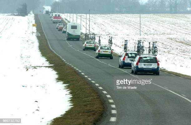 Paris - Nice, Stage 2Illustration Illustratie, Landscape Paysage Landschap, Snow Neige Sneeuw, Transfert Verplaatsing, Cars Voiture Autostage 2 : La...