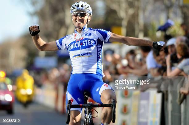 Paris - Nice, Stage 5Arrival, Carlos Barredo Celebration Joie Vreugde /Althen-Des-Paluds - Sisteron Etape Rit, Tim De Waele