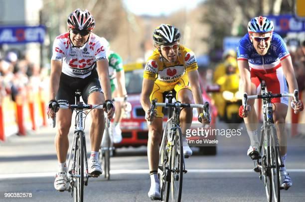 Paris - Nice, Stage 5Arrival, Karsten Kroon , Manuele Mori , Christophe Moreau , Althen-Des-Paluds - Sisteron Etape Rit, Tim De Waele