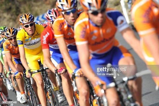 Paris - Nice, Stage 6Robert Gesink Yellow Jersey, Juan Antonio Flecha , Team Rabobank /Sisteron - Cannes Etape Rit, Tim De Waele