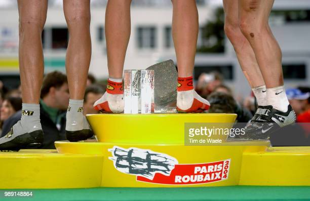 Paris Roubaix 2004Illustration Illustratie Podium Pied Foot Voet Kassei Pave Coble Stone Hoffman Tristan Backstedt Magnus Hammond Roger World Cup...