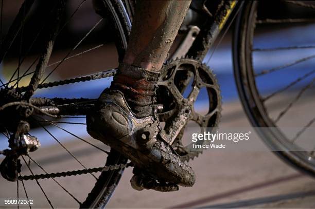 Paris Roubaix Illustration Illustratie Boue Modder Pied Voet Feet /Parijs Uci Couppe Du Monde Wereldbeker World Cup