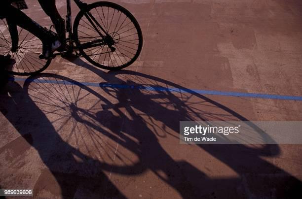 Paris - Roubaix, Illustration, Illustratie, Ombre, Schaduw, Shadow, Fiets, Velo, Bike, Parijs, Uci, Couppe Du Monde, Wereldbeker, World Cup,