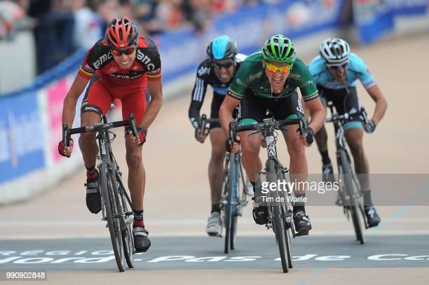 Paris-Roubaix 2012Arrival, Alessandro Ballan / Sebastien Turgot / Juan Antonio Flecha / Niki Terpstra / Compiegne - Roubaix / Parijs /C)Tim De Waele