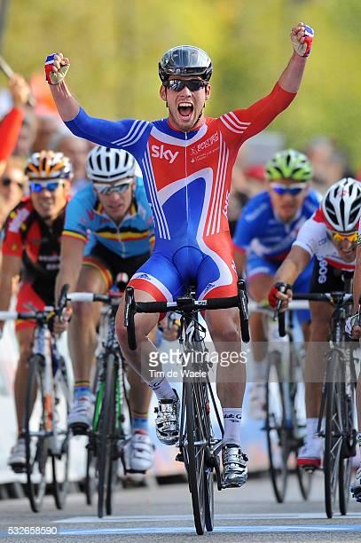 Road World Champ 2011 / Men Elite Arrival / Mark CAVENDISH Celebration Joie Vreugde / Rudersdal Rudersdal / Hommes Mannen / UCI Road World...