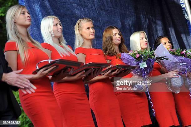 Road World Champ 2011 / Women Elite Podium / Miss Model Hostess / Rudersdal Rudersdal / Femmes Vrouwen / UCI Road World Championships / Championat du...