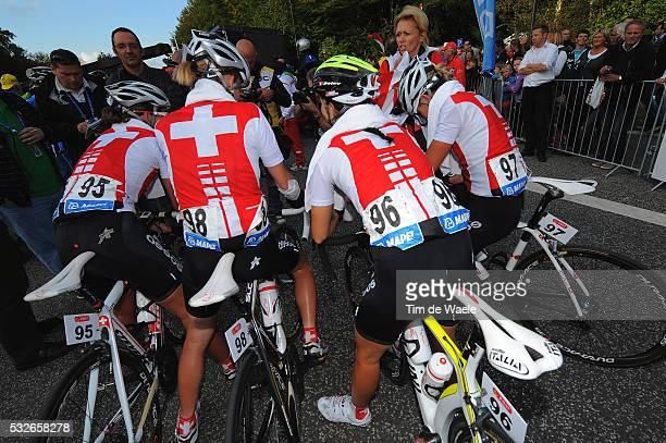 Road World Champ 2011 / Women Elite Team Swisse / Zwitserland Suisse / Rudersdal Rudersdal / Femmes Vrouwen / UCI Road World Championships /...
