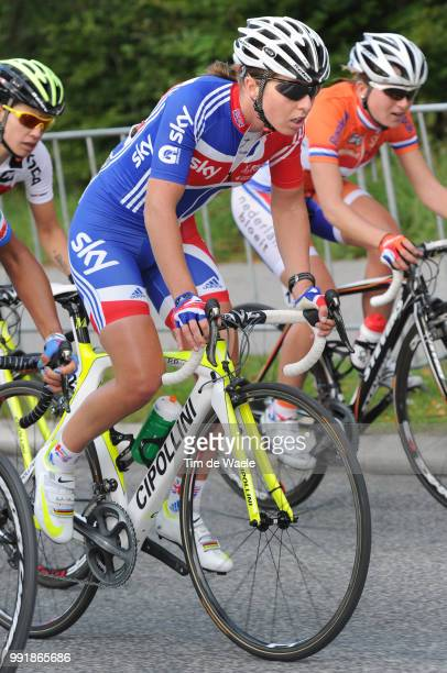 Road World Champ 2011 Women Elitenicole Cooke / Rudersdal Rudersdal / Femmes Vrouwen Uci Road World Championships Championat Du Monde Route Wc...