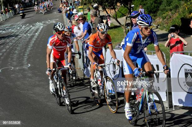Road World Championships 2010 Men Elitevincenzo Nibali / Koos Moerenhout / Chris Anker Sorensen / Melbourne Geelong /Road Race Men Elite Course En...