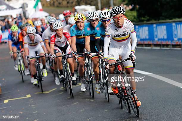 Road World Championships 2013 / RR Men Elite Nairo ROJAS QUINTANA / Lucca Firenze / Road Race Route Wegrit Hommes Mannen / Championat du Monde...