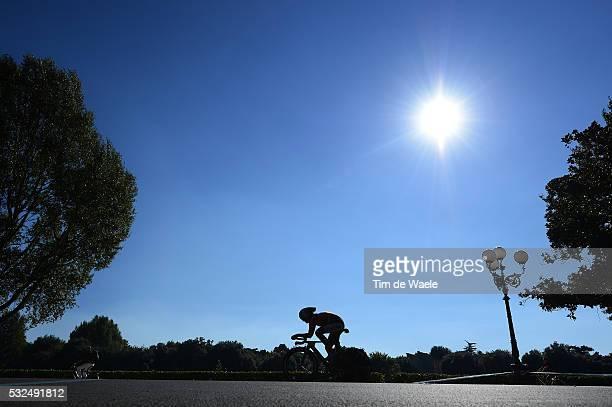 Road World Championships 2013 / TT Elite Women Silhouet Illustration Illustratie / Loes GUNNEWIJK / Firenze Firenze / Time Trial Contre la Montre...
