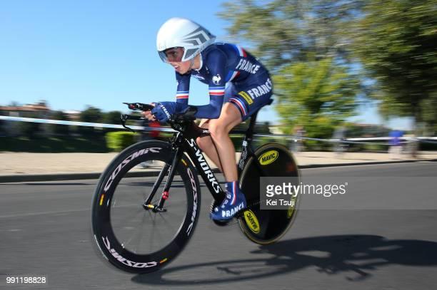 Road World Championships 2013, Tt Junior Women Severine Eraud / Firenze - Firenze / Time Trial Contre La Montre Tijdrit, Femmes Vrouwen, Championat...