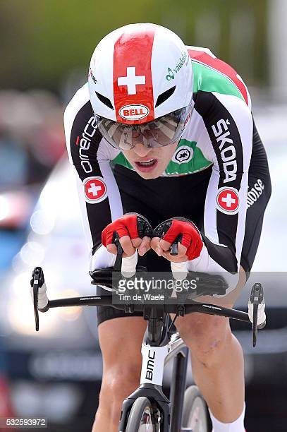Road World Championships 2014 / Men Juniors Gino MAEDER / Ponferrada - Ponferrada / Time Trial Contre la Montre Tijdrit / Hommes Mannen / WC...