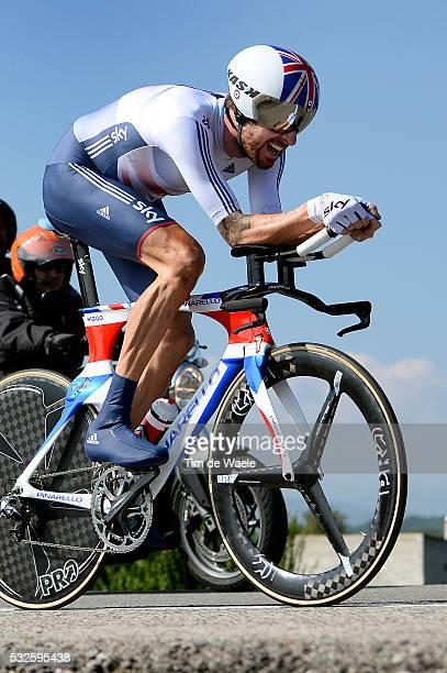Road World Championships 2014 / TT Men Elite Bradley WIGGINS Ponferrada - Ponferrada / Time Trial Contre la Montre Tijdrit / Hommes Mannen / WC...