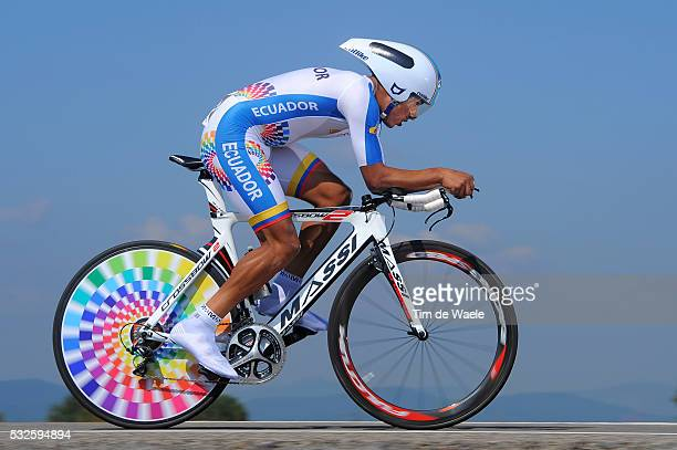 Road World Championships 2014 / TT Men Elite Segundo NAVARRETE / Ponferrada - Ponferrada / Time Trial Contre la Montre Tijdrit / Hommes Mannen / WC...