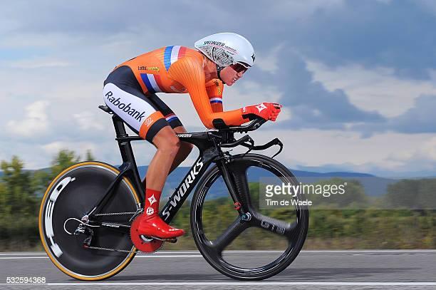 Road World Championships 2014 / TT Women Elite Chantal BLAAK / Ponferrada - Ponferrada / Time Trial Contre la Montre Tijdrit / Femmes Vrouwen / WC...