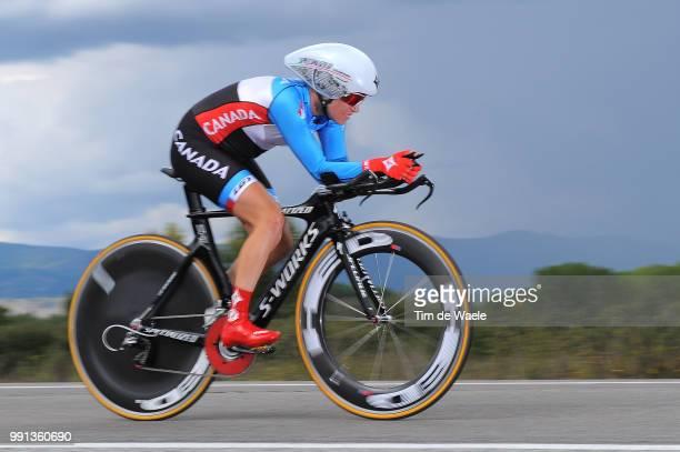 Road World Championships 2014 Tt Women Elite Karol Ann Canuel / Ponferrada Ponferrada / Time Trial Contre La Montre Tijdrit Femmes Vrouwen Wc...