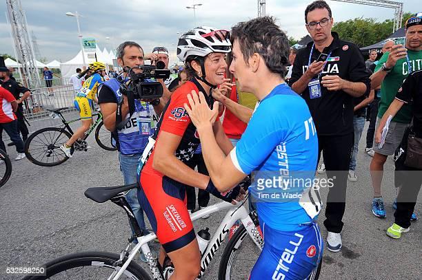Road World Championships 2014 / Women Elite Arrival / Evelyn STEVENS / Girogia BRONZINI / Tatiana GUDERZO / Deception Teleurstelling / Ponferrada -...