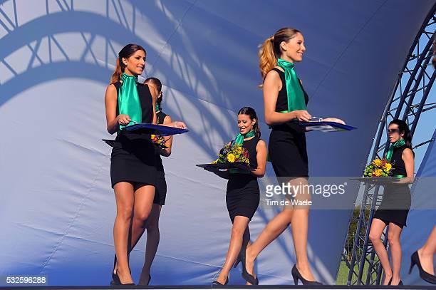Road World Championships 2014 / Women Junior Podium / Miss Hostess Model / Ponferrada - Ponferrada / WC Championat du Monde Wereldkampioenschap UCI...