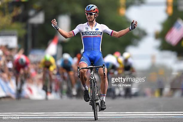 Road World Championships 2015 / Men Elite Arrival/ SAGAN Peter Celebration Joie Vreugde Richmond - Richmond / Hommes Mannen / WC Championat du Monde...
