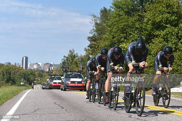 Road World Championships 2015/ TTT Elite Men Team JAMIS HAGENS BERMAN / HAEDO Lucas Sebastián / JARAMILLO DIEZ Daniel Alexander / LEECE Stephen /...