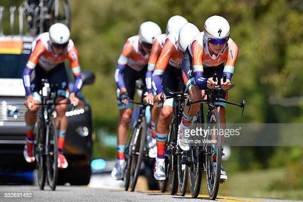 Road World Championships 2015/ TTT Elite Women/ Team Boels Dolmans Cycling Team / ARMITSTEAD Elizabeth / BLAAK Chantal / MAJERUS Christine /...