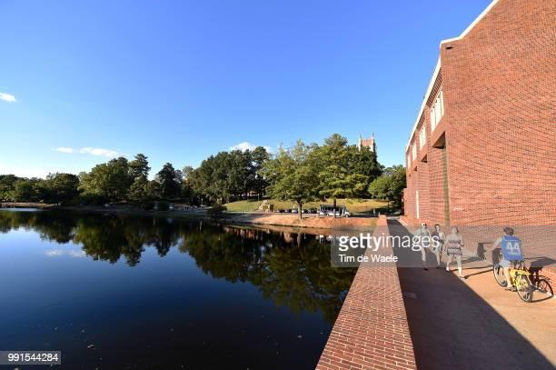 Road World Championships 2015 University Of Richmond, Start Departure Vertrek, Lake Lac Meer, Illustration Illustratie, Landscape Paysage Landschap,...