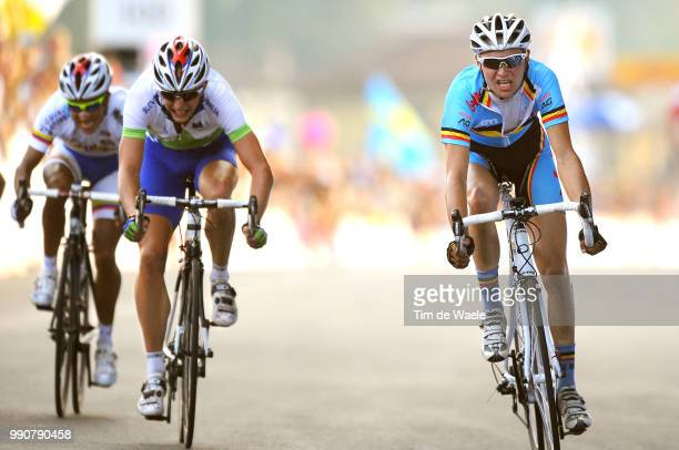 Road World Championships, Road Men -23Arrival, Jerome Baugnies / Marko Kump / Yevgeniy Nepomnyachshiy / Championat Du Monde, Wereldkampioenschap,...