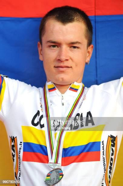 Road World Championships, Road Men -23Podium, Betancur Carlos Alberto Silver Medal, Championat Du Monde, Wereldkampioenschap, Hommes Mannen, Route...
