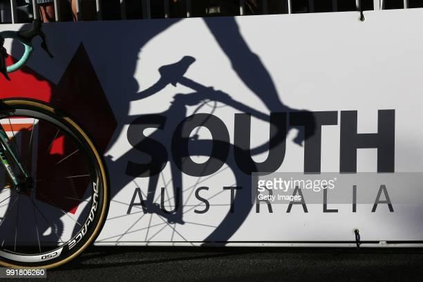 Santos Tour Down Under - People S Choice Classic 2014Ilustration Ilustratie/ Shadow Hombre Schaduw, Dura Ace Shimano Wheel Roue Wiel, Adelaide -...
