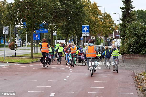 Cycling school children # 1 XL