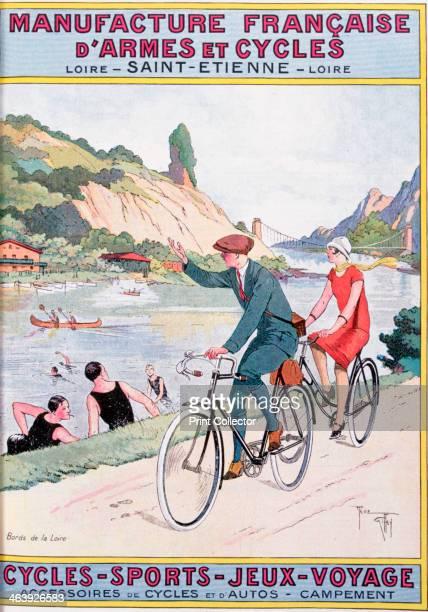 'Cycling Sport Fun Travel' 20th century A print from La Manufacture Français D'Armes et Cycles de SaintÉtienne French mail order catalog