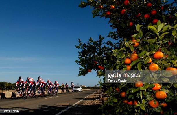 Stage Team Lotto Domo Paysage Landschap Landscape Merckx Axel Van Petegem Peter Baguet Serge Equipe Ploeg