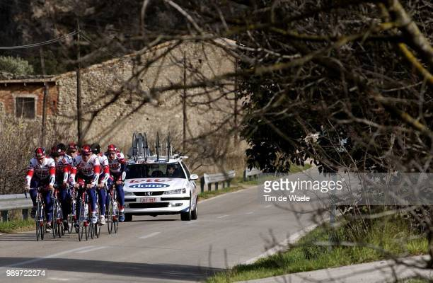 Stage Team Lotto Domo Van Bon Leon Moerenhout Koos Paysage Landschap Paysage Equipe Ploeg