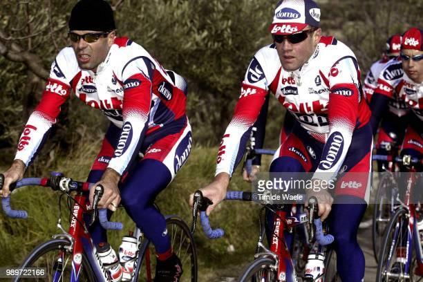 Stage Team Lotto Domo Van Petegem Peter Baguet Serge Equipe Ploeg